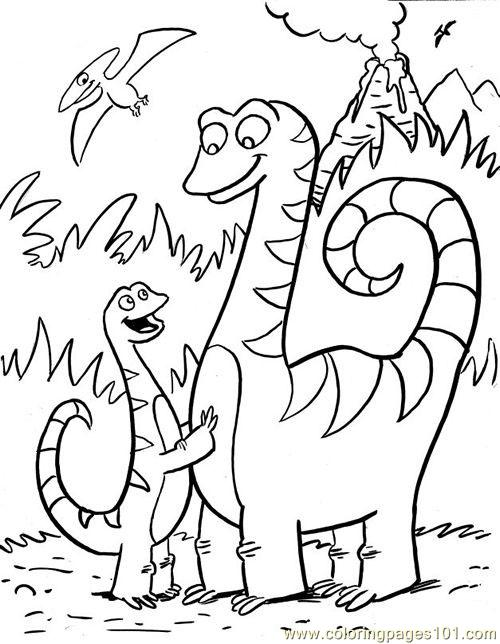 Colour By Number Dinosaur : Free coloring pages of dinosaur colour by number