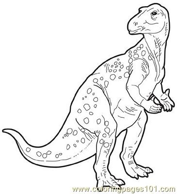 Iguanodon Coloring Page Coloring Pages Iguanodon Coloring Page