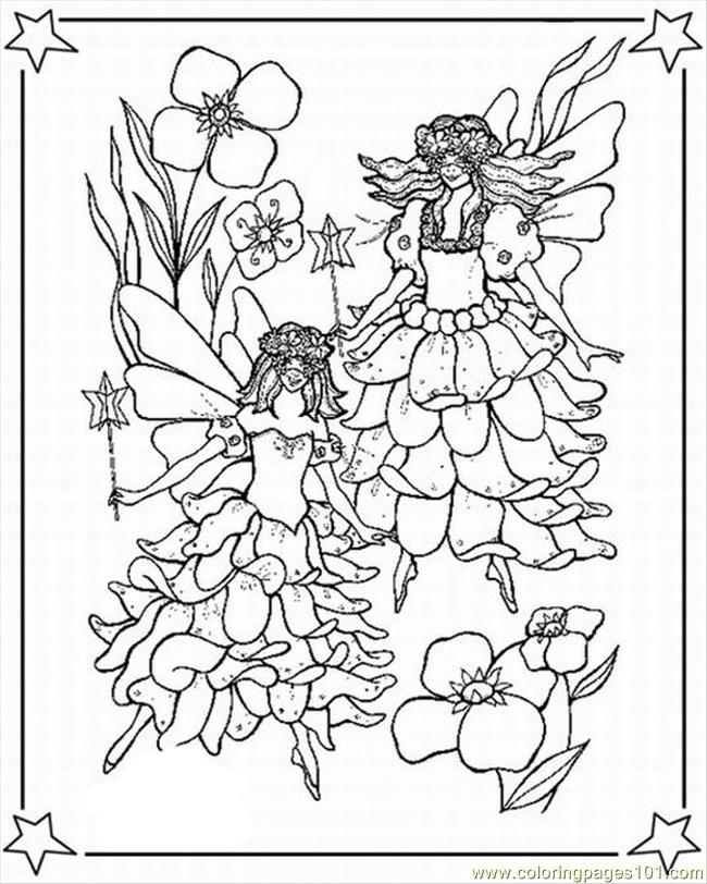 free online fairy coloring pages - photo#3