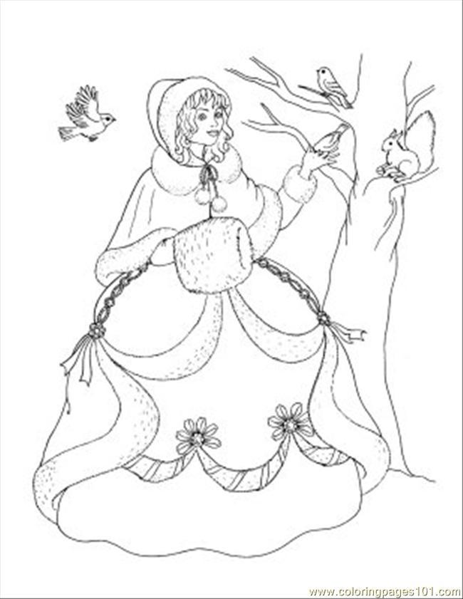 Random Princess Coloring Pages : Free coloring pages of de disney princess group