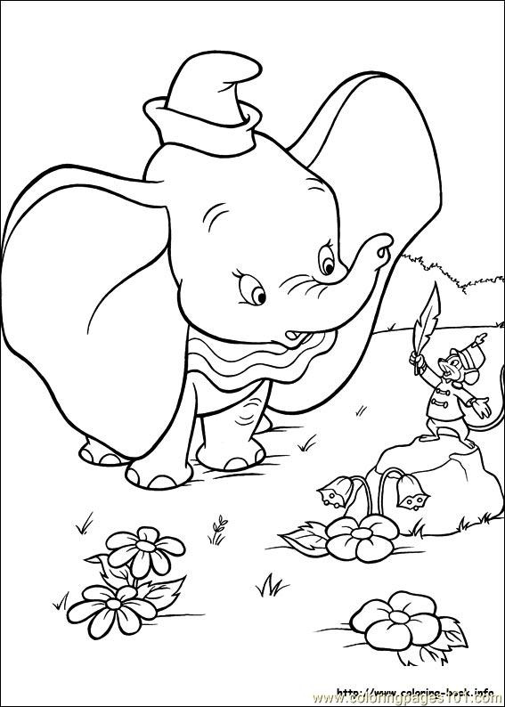 dumbo coloring pages free - photo#15