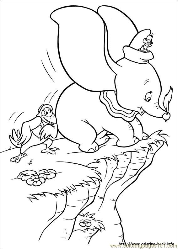 coloring pages dumbo 19 cartoons  dumbo  free