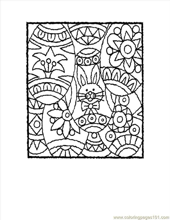 Free Kids Christmas Coloring Pages: Stained Glass Poinsettia