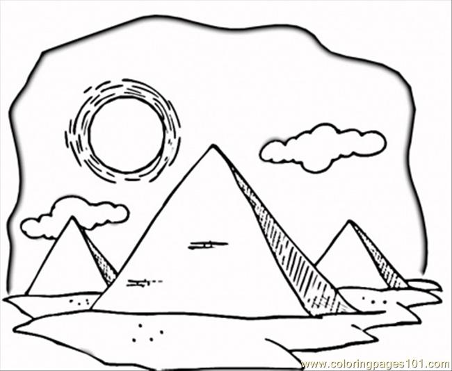 free coloring pages of egypt - photo#31