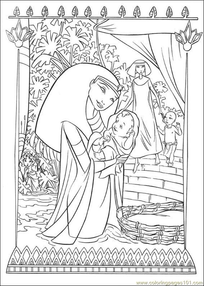 Coloring Pages Prince Egypt 03 Countries gt Egypt free