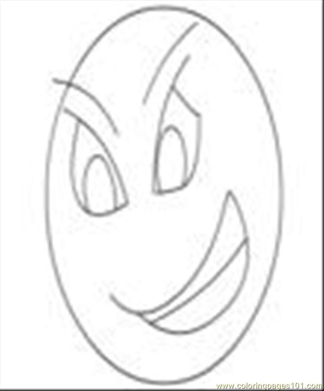 Free Coloring Pages Of Emotion And Feeling