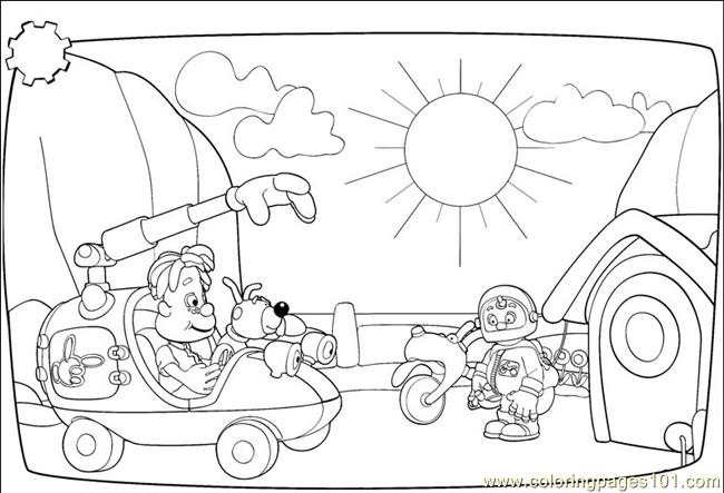 Coloring Pages Engie Benjy 001