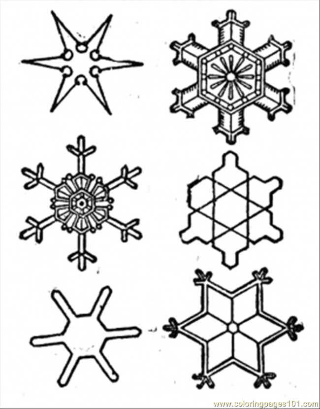 Snowflake coloring sheet new calendar template site for Snowflake coloring page