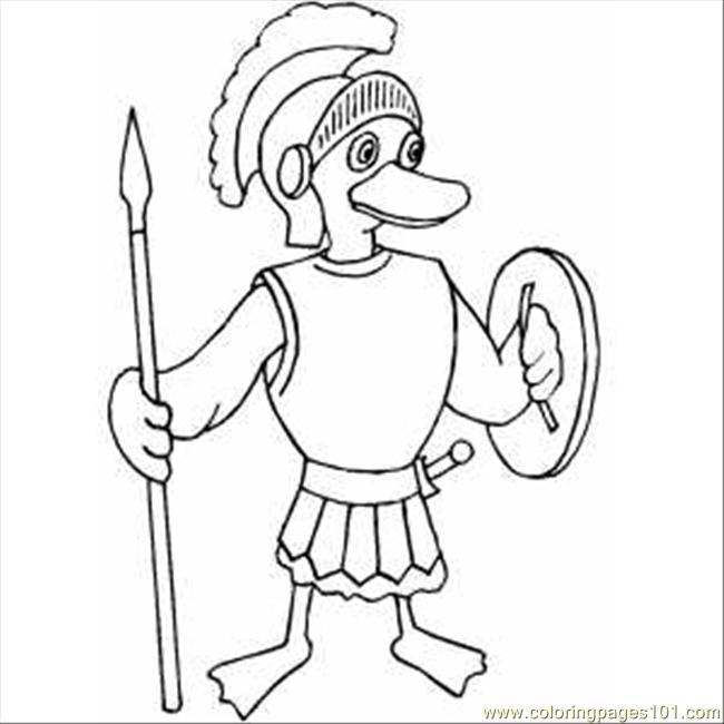 roman soldier coloring pages - photo#17