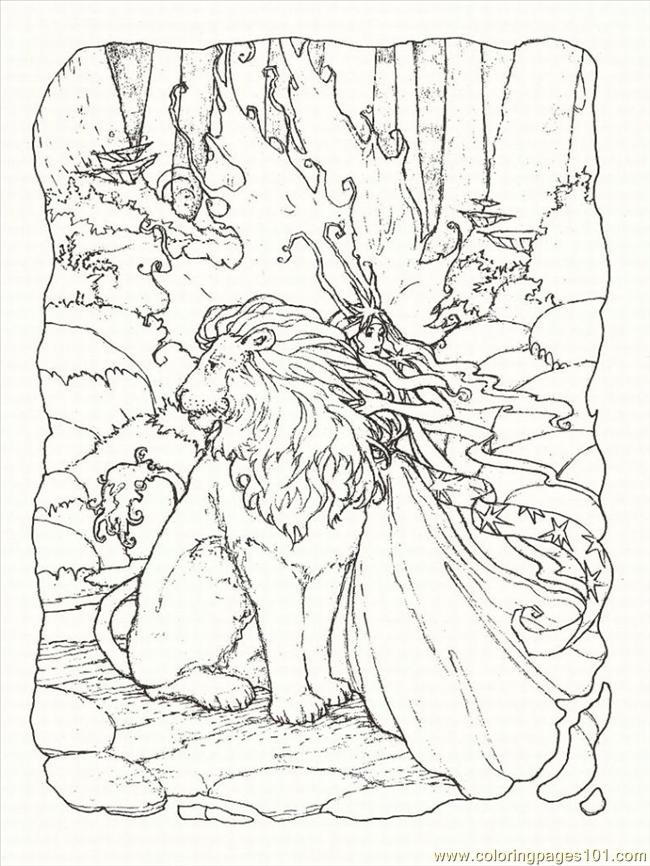 fantasy coloring pages online - photo#17