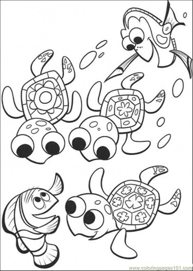 Coloring Pages Nemo. Color this Page Online! free