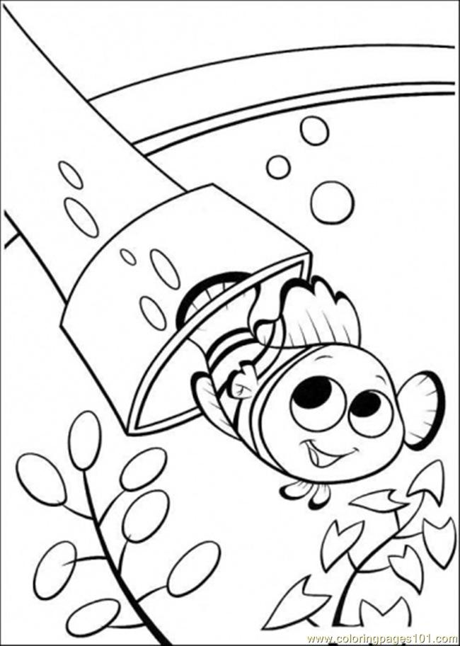 Coloring Pages Swim Out Cartoons