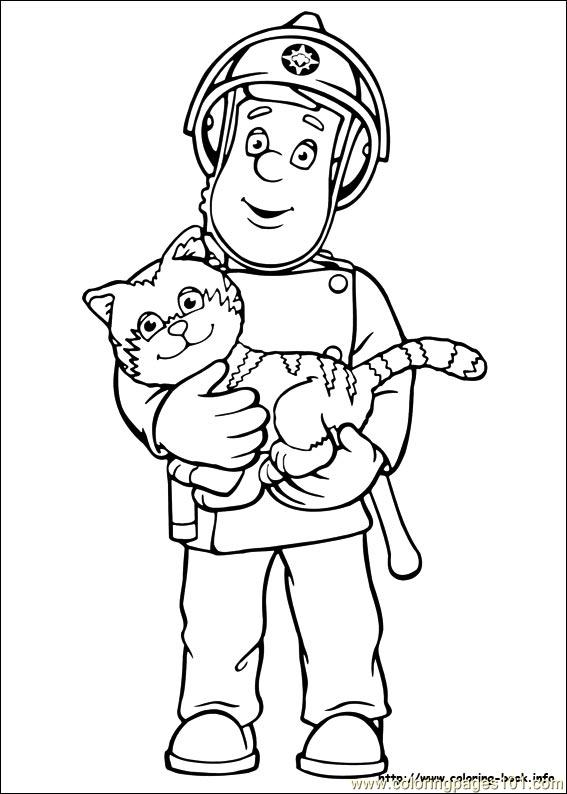 Coloring Pages Fireman Sam 01 Cartoons Gt Fireman Sam Fireman Sam Colouring Pages To Print