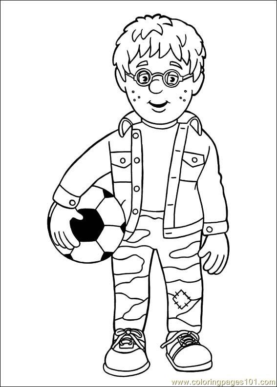 Fireman Sam Coloring Pages Printable