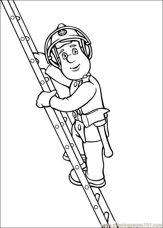 Free Printable Coloring Page Fireman Sam 23 Cartoons Fireman Sam Colouring Pages To Print