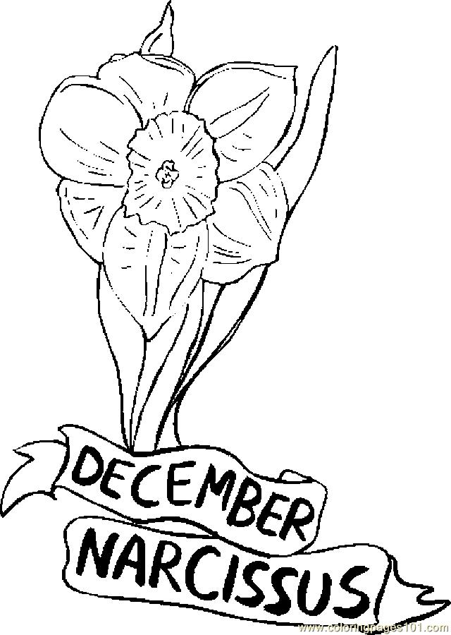 December pages coloring pages for December coloring page