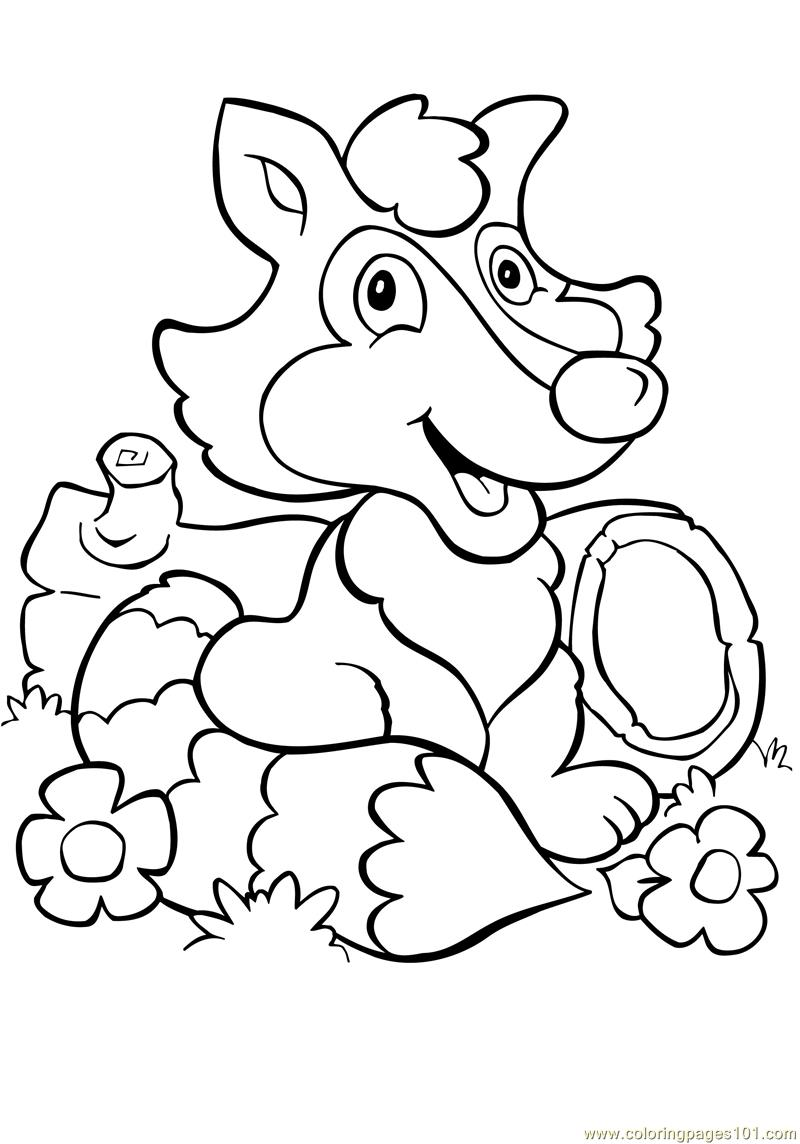 Free Zorro One Piece Coloring Pages