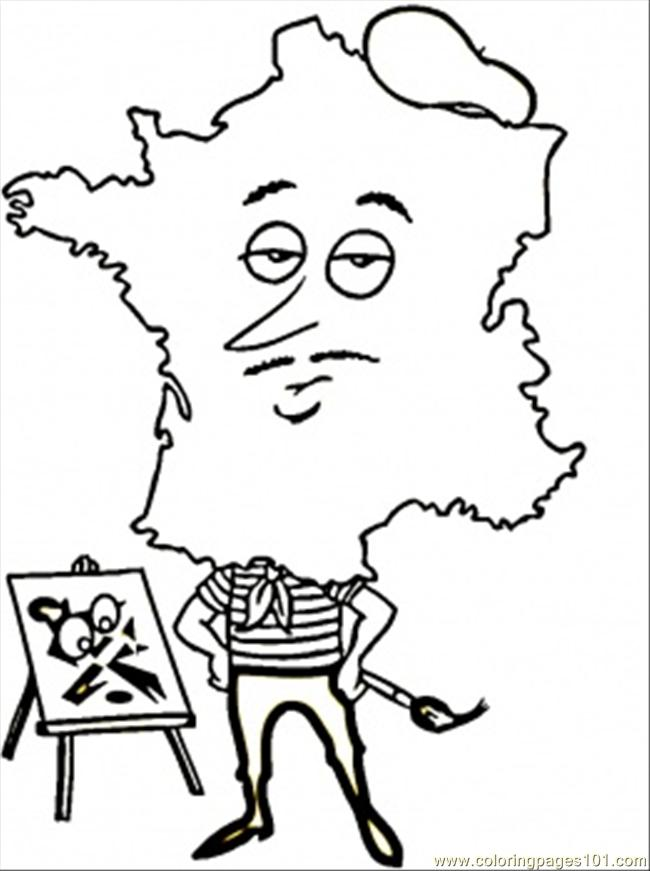 Free coloring pages of paris cars