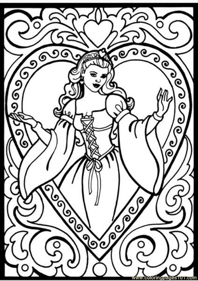 Coloring Pages 32 Princess Coloring Pages (Entertainment ...