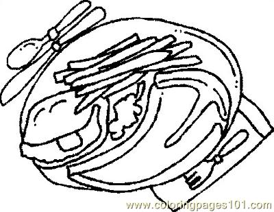 coloring pages of steaks - photo#21