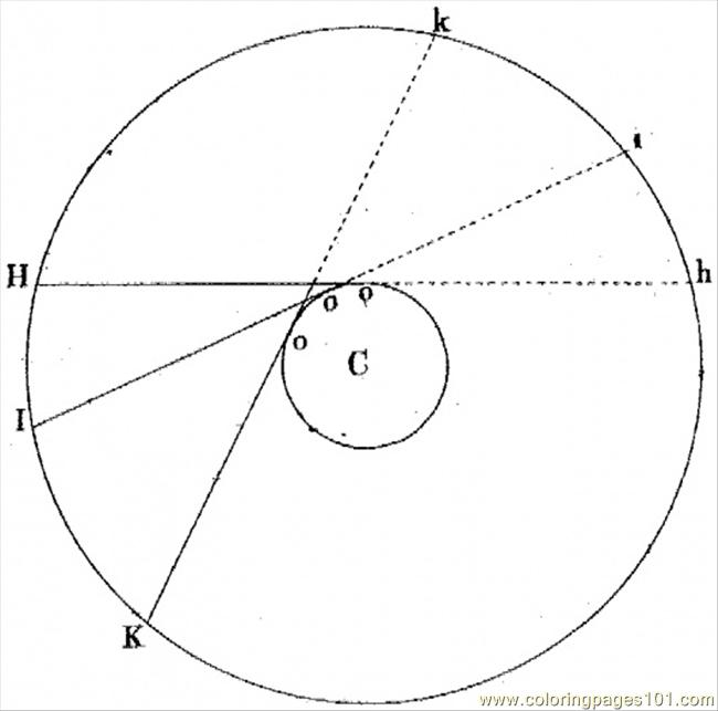 Coloring Pages Angle 3 Education gt Geometry free