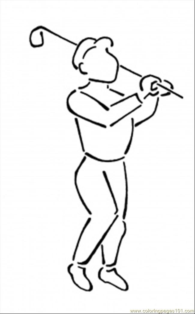 golf 1 lg coloring page auto electrical wiring diagramcoloring pages playing golf sports u0026gt golf