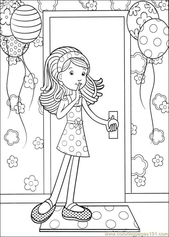 Groovy Animals Coloring Pages Free : Pin coloring pages groovy girls free printable on pinterest