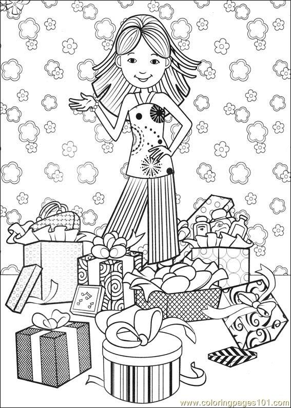 Groovy Animals Coloring Pages Free : Coloring pages groovy girls cartoons gt