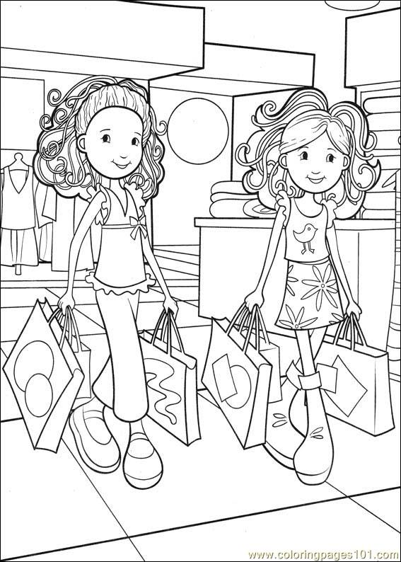 Coloring pages groovy girls 36 cartoons groovy girls for Groovy coloring pages