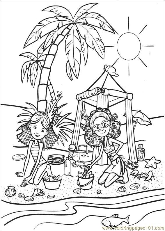 coloring pages groovy girls 53 cartoons groovy girls free printable coloring page online. Black Bedroom Furniture Sets. Home Design Ideas