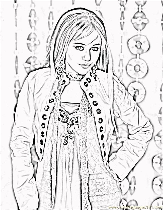 Coloring pages hannah montana8 peoples hannah montana for Hannah montana coloring pages free to print