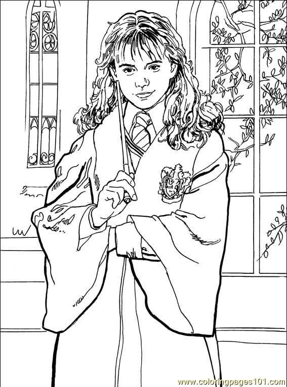 harry potter castle coloring pages - photo#14
