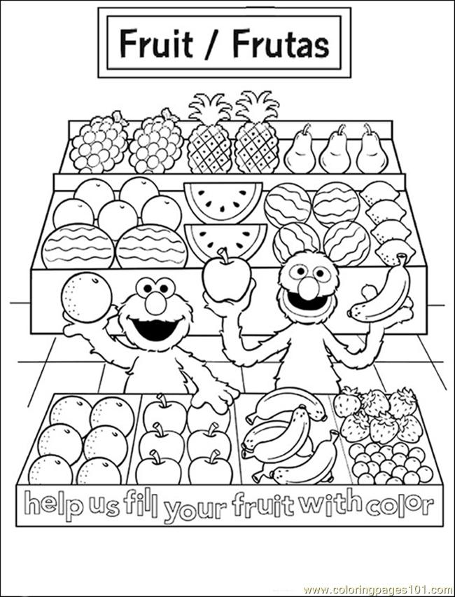 coloring pages on health - photo#8
