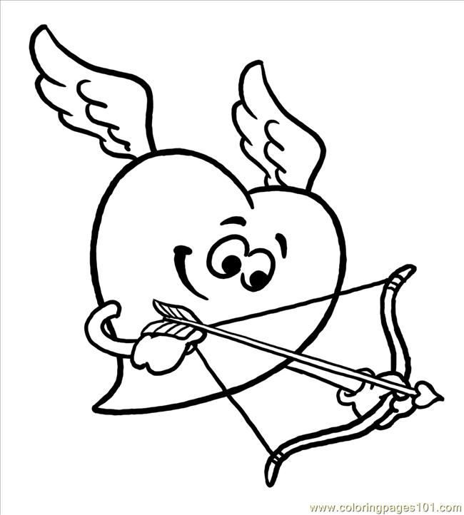 big heart coloring printable pages - photo#6