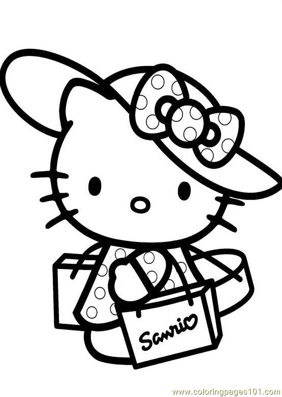 coloring pages hello kitty 1 cartoons hello kitty free printable coloring page online