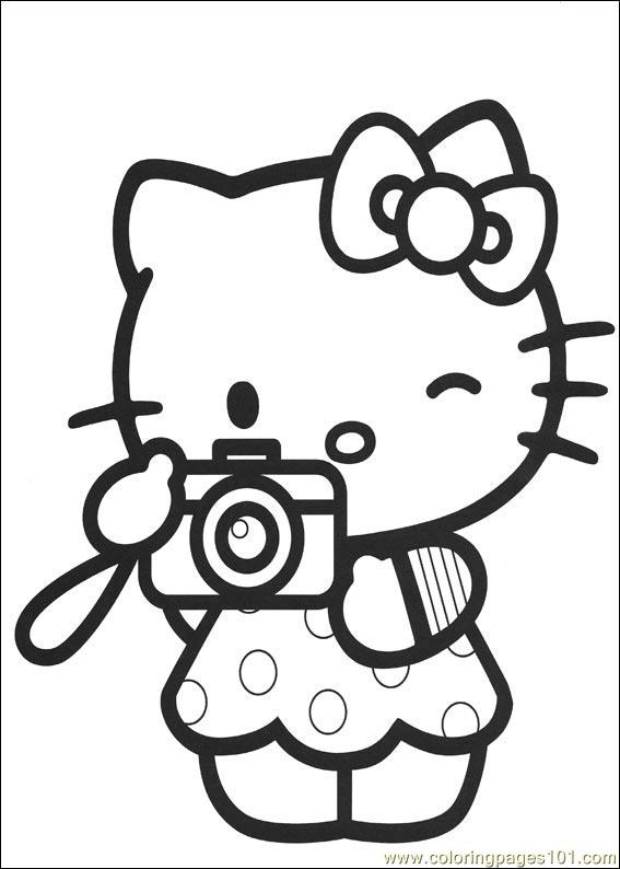 sanrio hello kitty coloring pages - photo#28