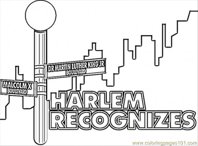 How To Draw Malcom X Malcolm X Coloring Pages