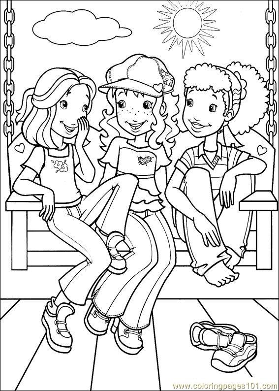 holly hobbie coloring pages holly hobbie free colouring pages