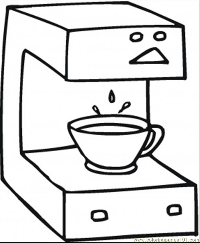 Coloring Pages Fresh Coffee Technology