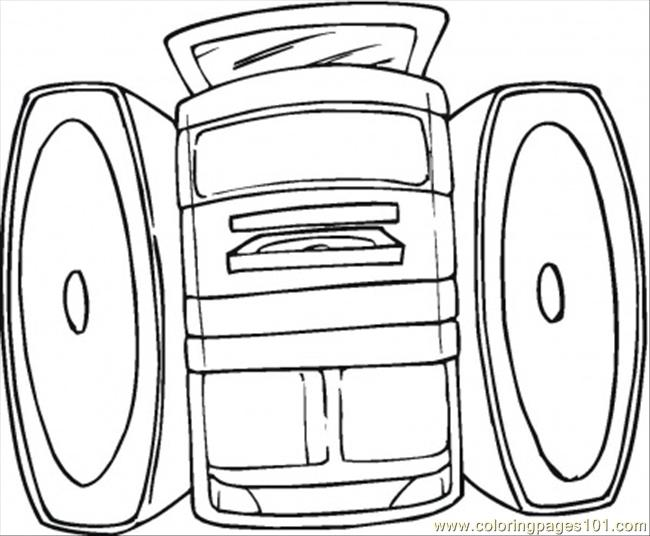 appliances television coloring pages - photo #28