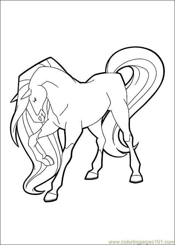 Coloring Pages Horseland 03 Cartoons Gt Horseland