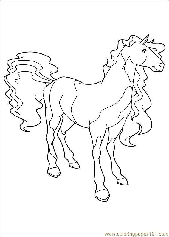Coloring Pages Horseland 06 Cartoons Gt Horseland
