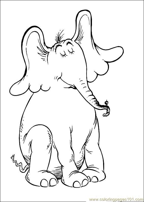 Coloring Pages Horton 10 (Cartoons > Horton) - free ...