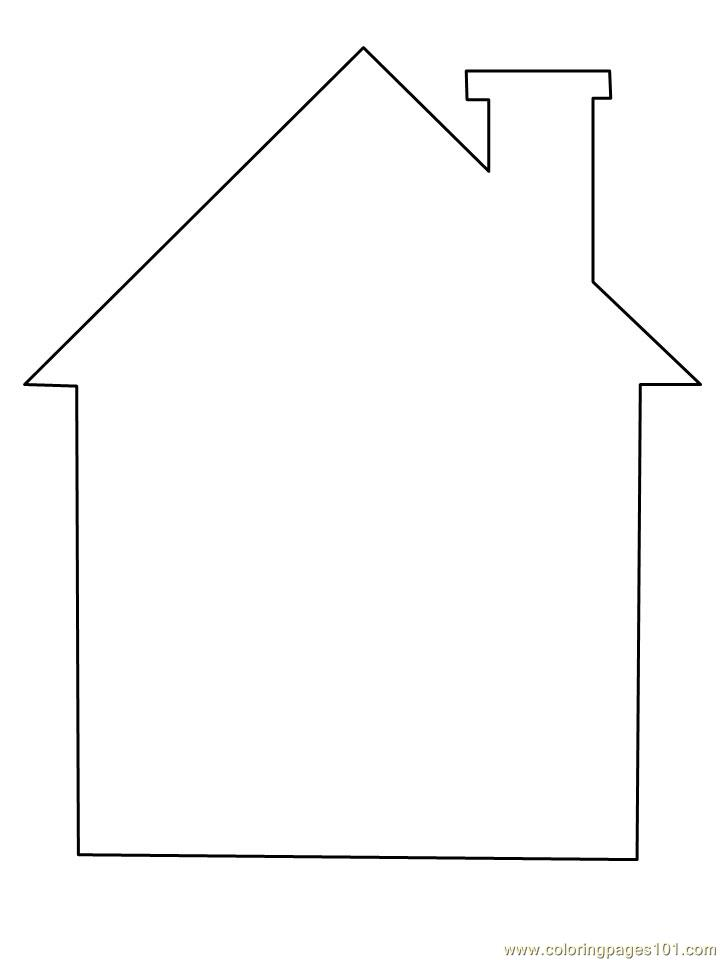 Coloring Pages Structure House Architecture Gt Houses