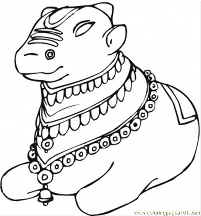 Printable Coloring Page Monkey