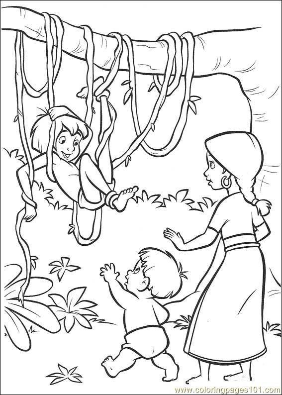 Coloring Pages Jungle Book 2 17 Cartoons Gt Jungle Book Jungle Book 2 Coloring Pages
