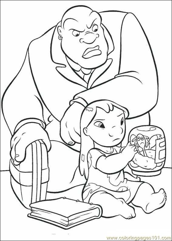 Coloring Pages Lilo Stitch07 Cartoons gt Lilo And Stitch