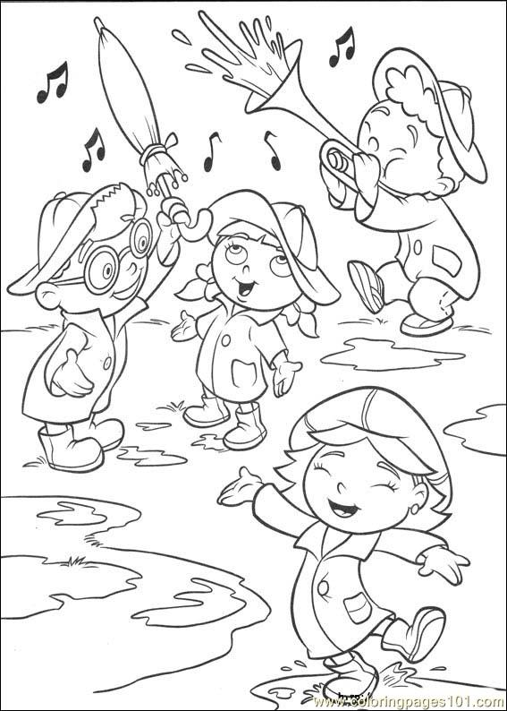 Coloring Pages Little Einsteins 27 Cartoons Gt Little