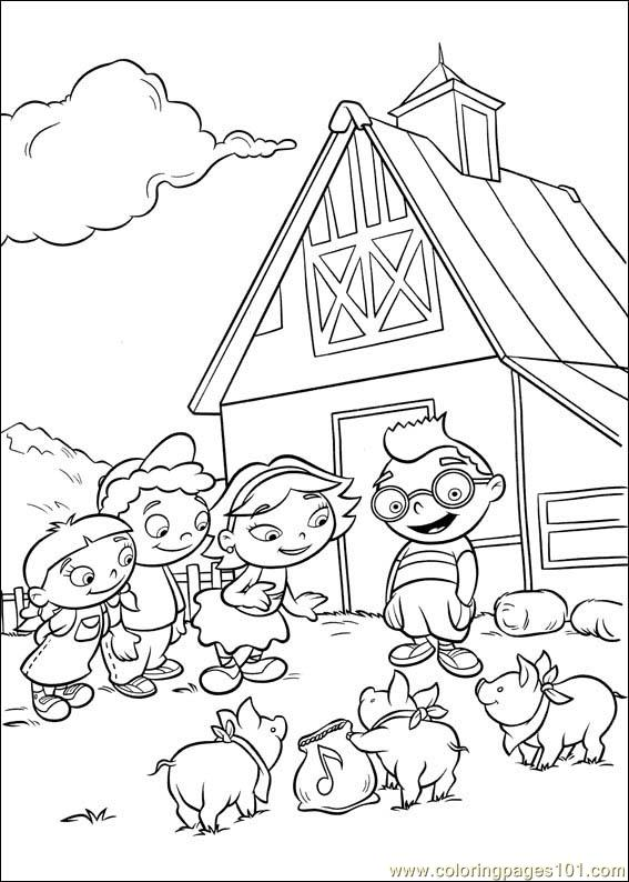 Coloring Pages Little Einsteins 43 Cartoons Gt Little