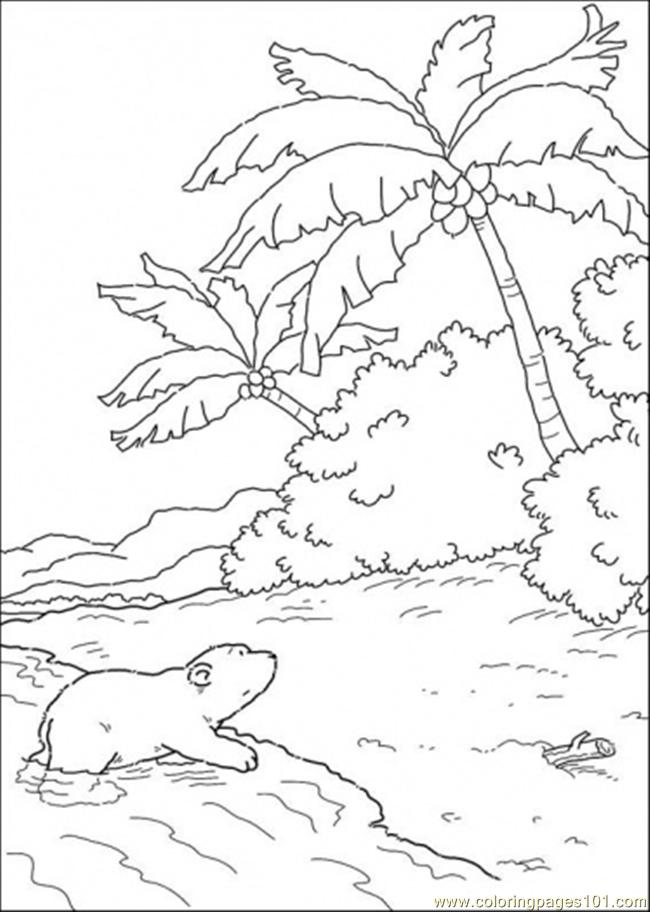 Island Coloring Pages And Water Coloring Pages Island Coloring Pages